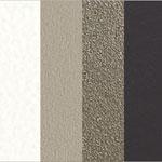 Multicolor Elegant MC01 (Bianco,Sabbia,Fango,Testa di Moro)