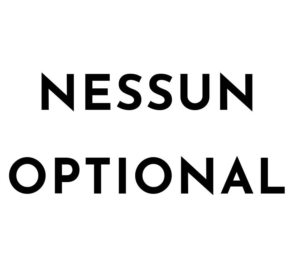 Nessun Optional